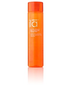 ila_apricot and vetiver shower gel